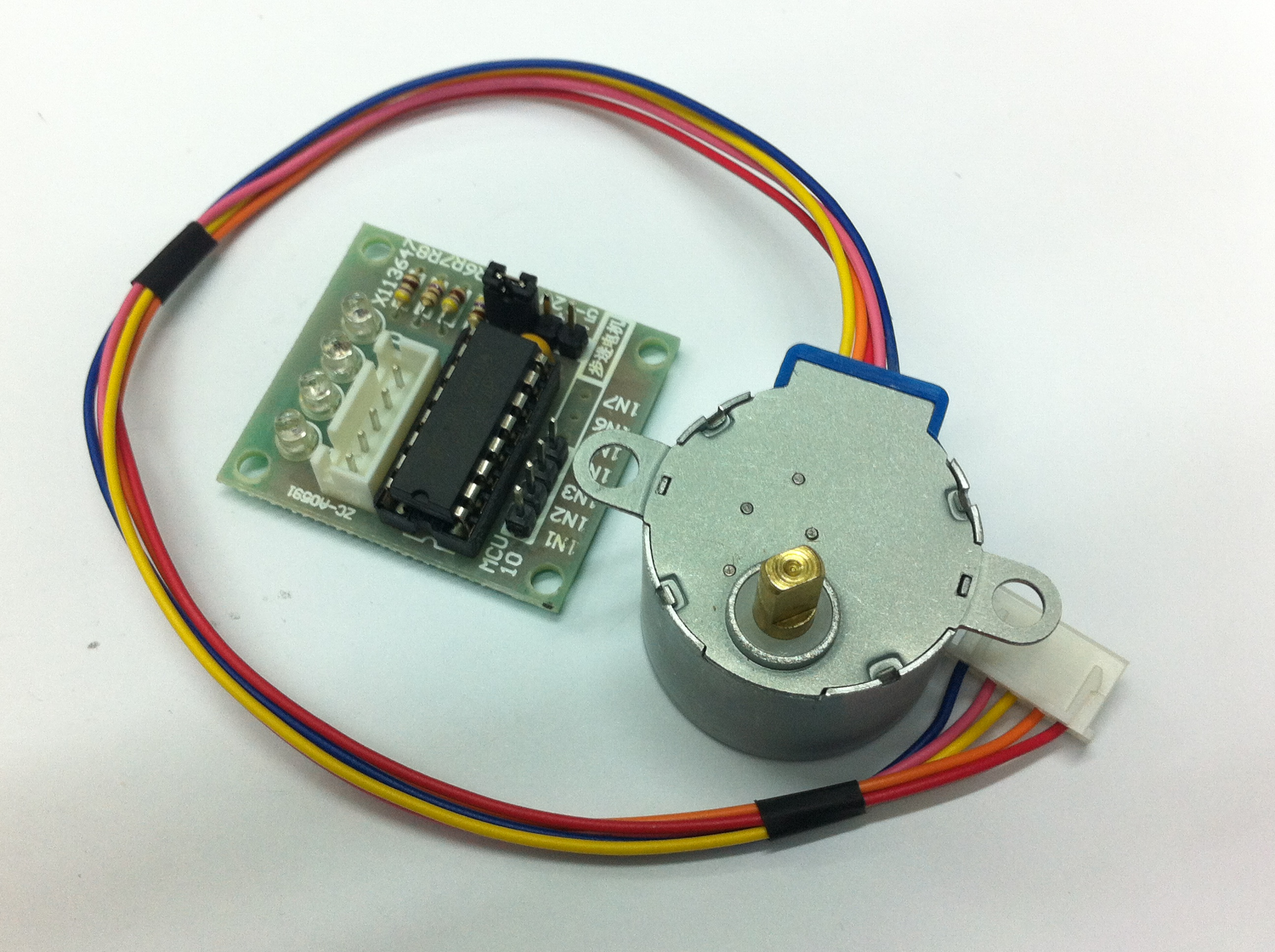 5v stepper motor 28byj 48 w drive test module board for How to check stepper motor